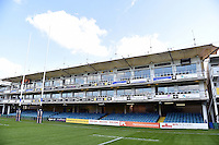 A general view of the IPL Stand. West Country Challenge Cup match, between Bath Rugby and Gloucester Rugby on September 26, 2015 at the Recreation Ground in Bath, England. Photo by: Patrick Khachfe / Onside Images