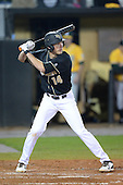 Central Florida Knights infielder Tommy Williams (14) during the season opening game against the Siena Saints at Jay Bergman Field on February 14, 2014 in Orlando, Florida.  UCF defeated Siena 8-1.  (Copyright Mike Janes Photography)
