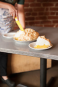 Lemon Meringue Pie from Brooke Erceg, owner of Cup A Joe in Hillsborough, who learned the recipe from her grandmother, Monday, Nov. 19, 2012.