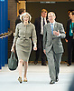 Conservative Party Conference, ICC, Birmingham, Great Britain <br /> 1st October 2014<br /> <br /> Theresa May MP <br /> Home Secretary <br /> with her husband Philip John May <br /> <br /> Photograph by Elliott Franks <br /> Image licensed to Elliott Franks Photography Services