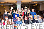 Daniel O'Mahony, Knocknagoshel, celebrates his 40th Birthday with family and friends at the rose Hotel on Saturday