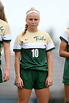 30 August 2015: William & Mary's Mackenzie Kober. The Duke University Blue Devils hosted the William & Mary University Tribe at Koskinen Stadium in Durham, NC in a 2015 NCAA Division I Women's Soccer game. Duke won the game 2-0.