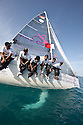 Pictures of Muscat 2012 skippered by Mohsin Al Busaidi. Shown here training prior to the race start in Bahrain..Credit: Lloyd Images