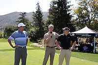 LOS ANGELES - APR 16:  Dennis Wagner, Jack Wagner, Tim Curren at the The Leukemia & Lymphoma Society Jack Wagner Golf Tournament at Lakeside Golf Course on April 16, 2012 in Toluca Lake, CA