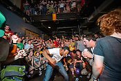 September 7, 2012. Raleigh, NC. Dan Deacon performs at The Pour House Music Hall as part of the 2012 Hopscotch Music Festival in Raleigh, NC.