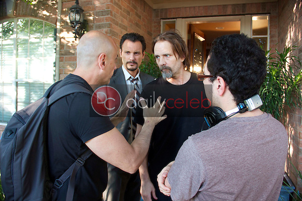 Loris Curci, Mark Gantt, Michael Biehn, Patricio Valledares<br />