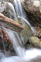 A small waterfall on Blood Mountain in the north Georgia mountains.