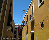 Callejon de La Capilla in Old San Juan in Puerto Rico. Where Newyorican Cafe is..Photo/Angel Valentin