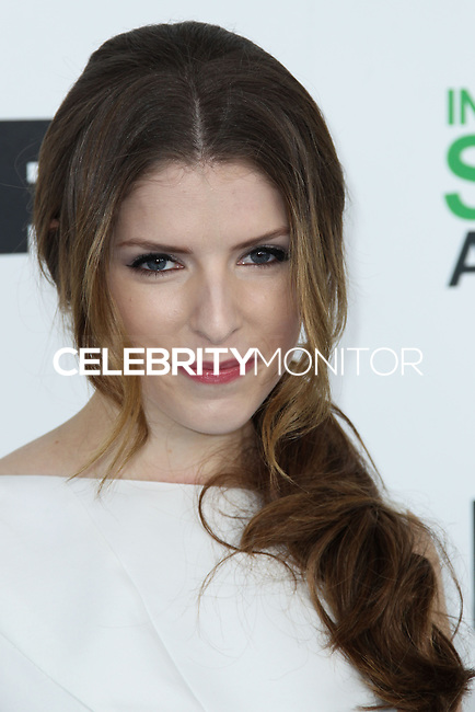 SANTA MONICA, CA, USA - MARCH 01: Anna Kendrick at the 2014 Film Independent Spirit Awards held at Santa Monica Beach on March 1, 2014 in Santa Monica, California, United States. (Photo by Xavier Collin/Celebrity Monitor)