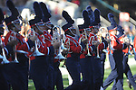 Ole Miss band takes the field vs. Alabama at Vaught-Hemingway Stadium in Oxford, Miss. on Saturday, October 14, 2011. Alabama won 52-7.
