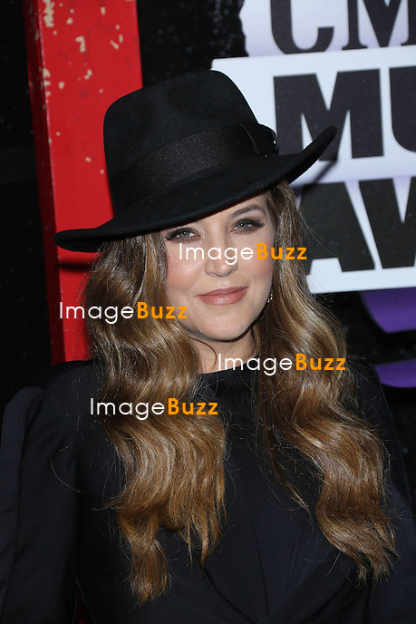 Lisa Marie Presley at the 2013 Country Music Awards in Nashville, Tennessee. June 5, 2013.