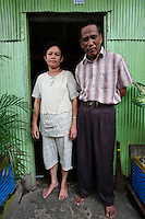 Residents of Tallo, Makassar, Sulawesi, Indonesia.