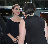 NEW YORK, NY-October 13:Natalie Portman at NYFF54  presents a screening of Jackie  at Alice Tully Hall in New York.October 13, 2016. Credit:RW/IMerdiaPunch