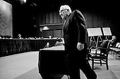 Washington DC, .District of Columbia.USA.January 31, 2007..Henry Kissinger at Senate hearing concerning the war in Iraq....
