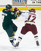 Nick Bruneteau (Vermont - 4), Brian Gibbons (BC - 17) - The Boston College Eagles defeated the visiting University of Vermont Catamounts 6-0 on Sunday, November 28, 2010, at Conte Forum in Chestnut Hill, Massachusetts.