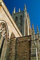 Bryn Athyn Church, New Church, Cathedral, Pennypack Creek Valley, Bryn Athyn, Pennsylvania, PA High dynamic range imaging (HDRI or HDR)