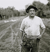 Rural farmer in the Pampas District, Argentina