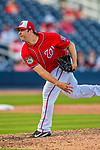 28 February 2017: Washington Nationals pitcher Matt Albers on the mound during the Spring Training inaugural game against the Houston Astros at the Ballpark of the Palm Beaches in West Palm Beach, Florida. The Nationals defeated the Astros 4-3 in Grapefruit League play. Mandatory Credit: Ed Wolfstein Photo *** RAW (NEF) Image File Available ***