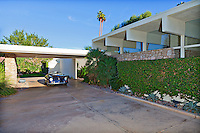 Stock photo of Frank Capra's A. Quincy Jones designed mid-century home in La Quinta, California