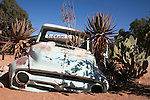 Old car, Solitaire lodge, Namibia, Africa