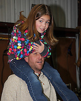 Rex with daughter Erin.