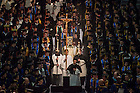 May 16, 2015;  2015 Commencement Mass. (Photo by Barbara Johnston/University of Notre Dame)