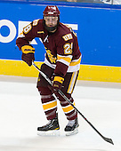 Wade Bergman (Duluth - 28) - The Boston College Eagles defeated the University of Minnesota Duluth Bulldogs 4-0 to win the NCAA Northeast Regional on Sunday, March 25, 2012, at the DCU Center in Worcester, Massachusetts.
