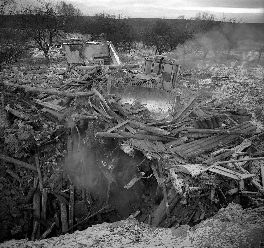 The explosion at the Chernobyl