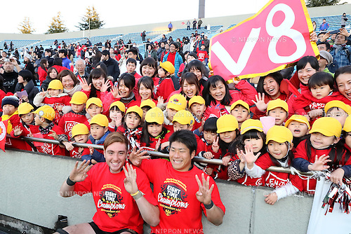 (L-R) <br />  Brodi McCurran, <br /> Rikiya Matsuda (), <br /> JANUARY 9, 2017 - Rugby : <br /> All-Japan University Rugby Championship Final match <br /> between Teikyo University 33-26 Tokai University <br /> at Prince Chichibu Memorial Stadium in Tokyo, Japan. <br /> (Photo by AFLO SPORT)