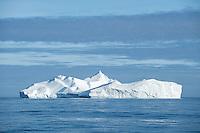 Large iceberg in Denmark Straight off east coast of Greenland