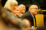 Former State Senator Joe Simitian joined the community for a special meeting and coucil swearing-in ceremony Dec. 12.