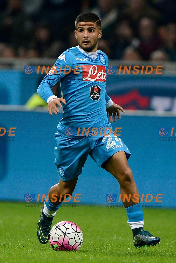 Lorenzo Insigne Napoli<br /> Milano 4-10-2015 Stadio Giuseppe Meazza - Football Calcio Serie A Milan - Napoli. Foto Giuseppe Celeste / Insidefoto