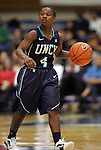 20 December 2011: UNCW's Alisha Andrews. The Duke University Blue Devils defeated the University of North Carolina Wilmington Seahawks 107-45 at Cameron Indoor Stadium in Durham, North Carolina in an NCAA Division I Women's basketball game.