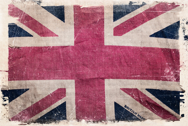 Old Union Jack flag