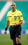 Hibs v St Johnstone....27.11.10  .Ref Christian Lautier.Picture by Graeme Hart..Copyright Perthshire Picture Agency.Tel: 01738 623350  Mobile: 07990 594431