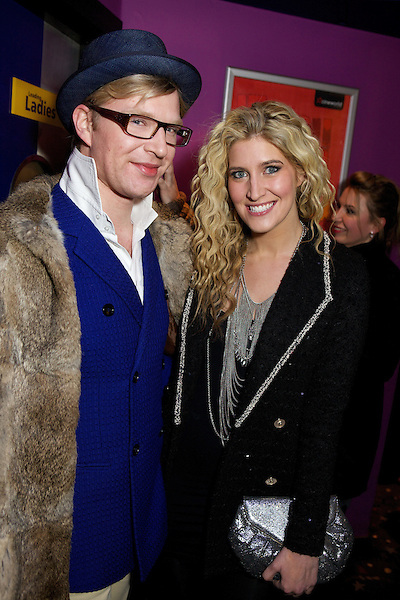 Henry Conway and Francesca Hull at The Maggie's Nightclub premiere of The Iron Lady at the Cineworld Cinema on the King's Road in Chelsea