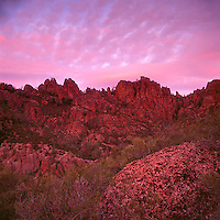 Dawn, Pinnacles National Monument, San Benito County, California