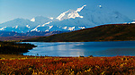 Wonder Lake & Mount McKinley, Denali National Park, Alaska, USA