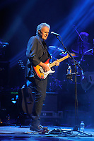 LONDON, ENGLAND - APRIL 13: Rick Fenn of '10cc' performing at The London Palladium on April 13, 2017 in London, England.<br /> CAP/MAR<br /> &copy;MAR/Capital Pictures
