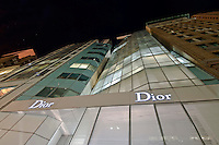 LVMH New York Headquarters, Dior, 19 E 57th Street, designed by Christian de Porzamparc.Manhattan, New York City, New York, USA