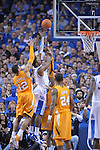 UK's Terrence Jones lays it up during the second half of the University of Kentucky Men's basketball game against Tennessee at Rupp Arena in Lexington, Ky., on 2/8/11. Uk won the game 73-61. Photo by Mike Weaver | Staff