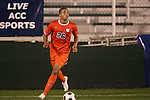 14 November 2008: Virginia's Howard Turk. The University of Virginia defeated Wake Forest 3-2 in two overtimes at WakeMed Stadium at WakeMed Soccer Park in Cary, NC in a men's ACC tournament semifinal game.
