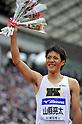 Ryota Yamagata (JPN),.APRIL 29, 2012 - Athletics : The 46th Mikio Oda Memorial athletic meet, JAAF Track & Field Grand Prix Rd.3,during Men's 100m final at Hiroshima Kouiki Kouen (Hiroshima Big arch), Hiroshima, Japan. (Photo by Jun Tsukida/AFLO SPORT) [0003]