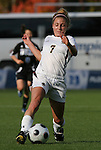 05 November 2008: Boston College's Amy Caldwell. Boston College defeated Duke University 1-0 at Koka Booth Stadium at WakeMed Soccer Park in Cary, NC in a women's ACC tournament quarterfinal game.