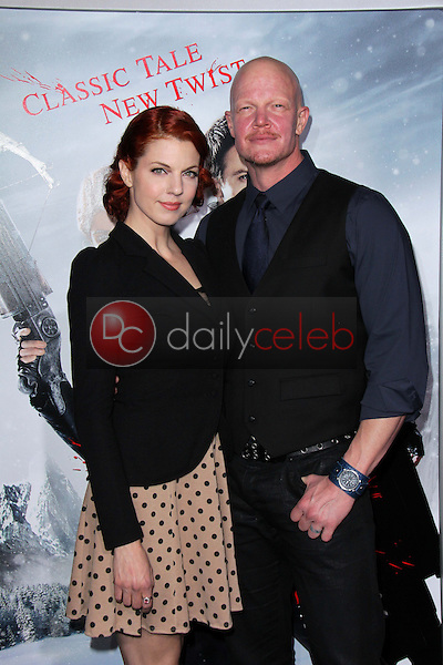 Derek Mears<br /> at the &quot;Hansel &amp; Gretel Witch Hunters&quot; Los Angeles Premiere, Chinese Theater, Hollywood, CA 01-24-13<br /> David Edwards/DailyCeleb.com 818-249-4998