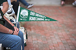 After months of renovations, Ohio University's College Gateway is officially re-opened during a ribbon-cutting ceremony by Ohio University President, Roderick McDavis, on October 8, 2016.