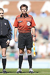 20 October 2013: Assistant Referee Jeremy L.B. Smith. The University of North Carolina Tar Heels hosted the University of Virginia Cavaliers at Fetzer Field in Chapel Hill, NC in a 2013 NCAA Division I Women's Soccer match. Virginia won the game 2-0.