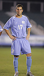 UNC's David Boole on Wednesday, November 9th, 2005 at SAS Stadium in Cary, North Carolina. The University of North Carolina Tarheels defeated the North Carolina State University Wolfpack 1-0 during their Atlantic Coast Conference Tournament Quarterfinal game.