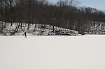 Cross Counrtry Skiing at Pocantico Lake, Westchester