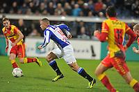 VOETBAL: ABE LENSTRA STADION: HEERENVEEN: 30-11-2013, SC Heerenveen - Go Ahead Eagles, uitslag 3-1, Yanic Wildschut (#14 | SCH), ©foto Martin de Jong